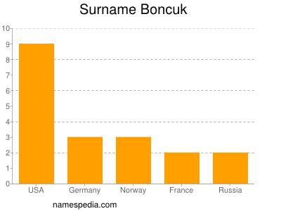 Surname Boncuk