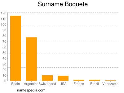 Surname Boquete