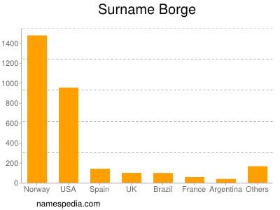 Surname Borge