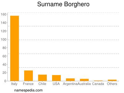 Surname Borghero