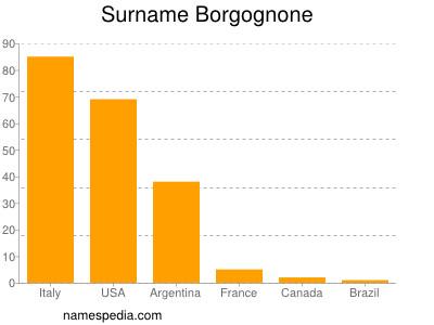 Surname Borgognone