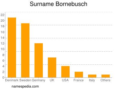 Surname Bornebusch