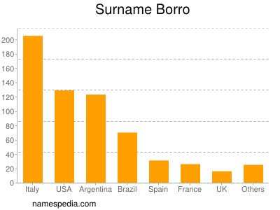 Surname Borro