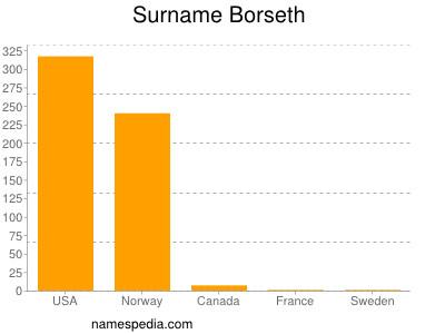 Surname Borseth
