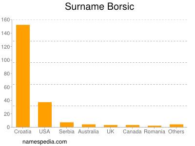 Surname Borsic