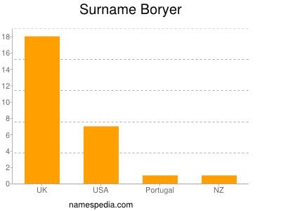 Surname Boryer