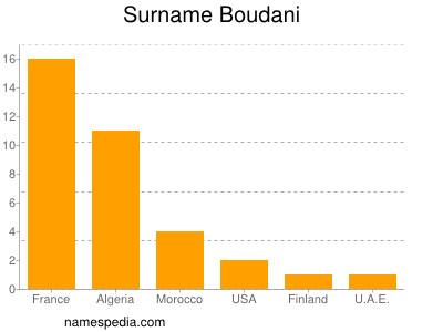 Surname Boudani