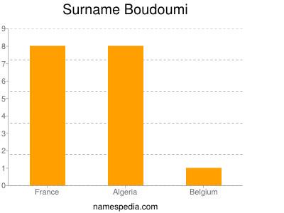 Surname Boudoumi