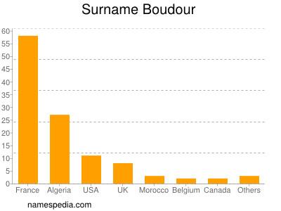 Surname Boudour