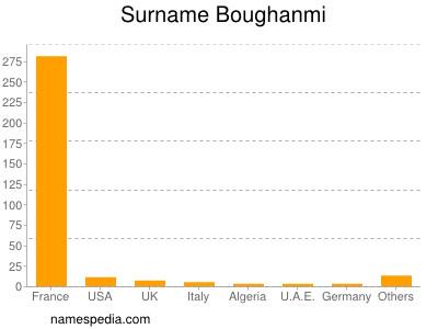 Surname Boughanmi