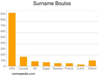 Surname Boulos