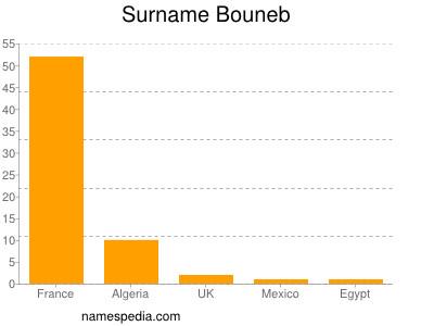 Surname Bouneb
