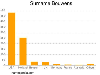Surname Bouwens