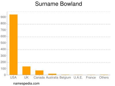Surname Bowland