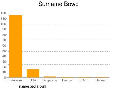 Surname Bowo