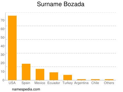 Surname Bozada