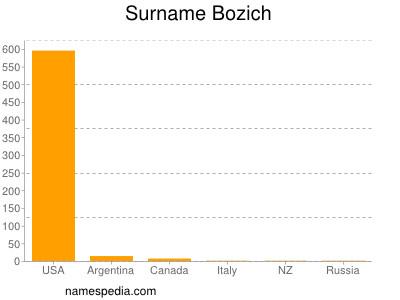 Surname Bozich