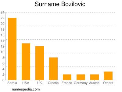 Surname Bozilovic