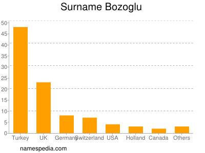 Surname Bozoglu