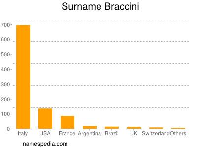 Surname Braccini