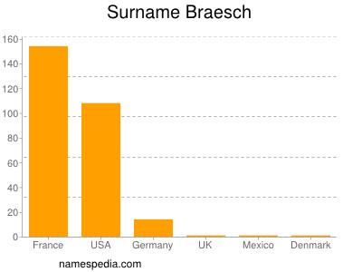 Surname Braesch