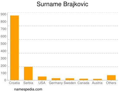 Surname Brajkovic