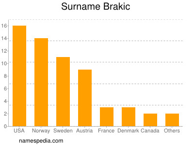 Surname Brakic