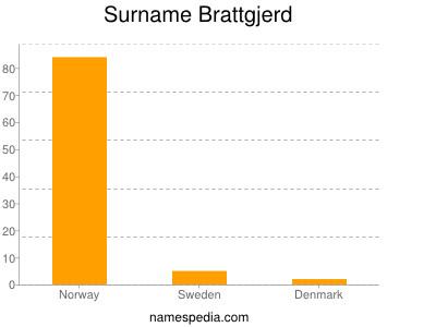 Surname Brattgjerd