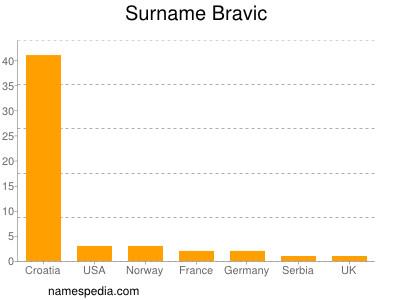 Surname Bravic