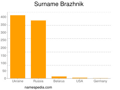 Surname Brazhnik