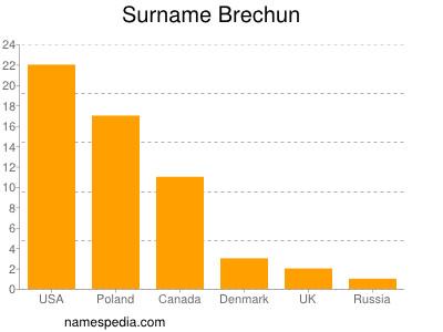 Surname Brechun