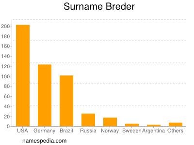 Surname Breder
