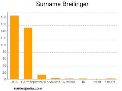Surname Breitinger