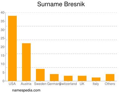 Surname Bresnik