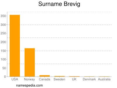 Surname Brevig
