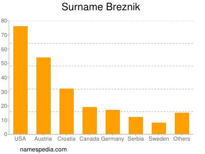 Surname Breznik