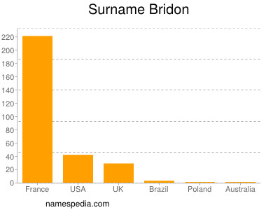 Surname Bridon