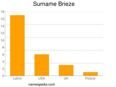 Surname Brieze