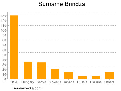 Surname Brindza