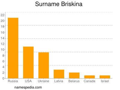 Surname Briskina