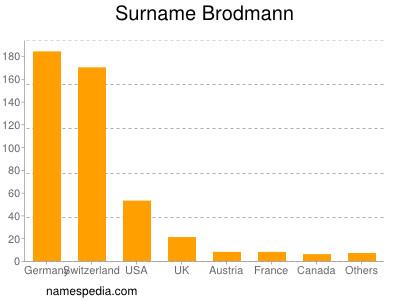 Surname Brodmann