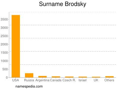 Surname Brodsky