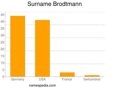 Surname Brodtmann