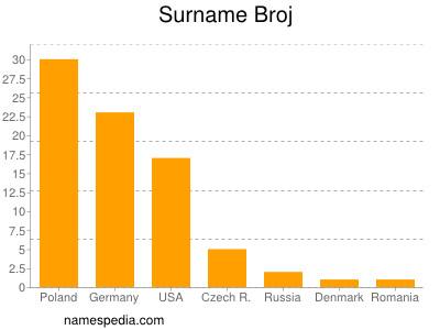 Surname Broj