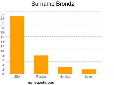 Surname Brondz