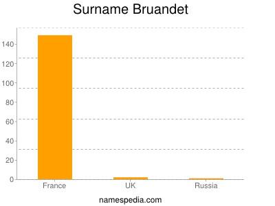 Surname Bruandet