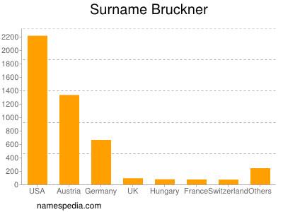 Surname Bruckner
