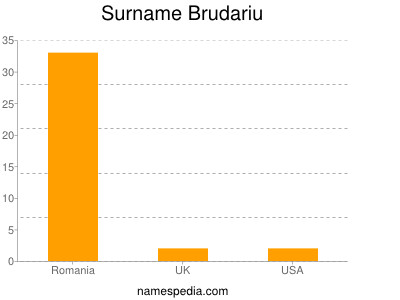 Surname Brudariu