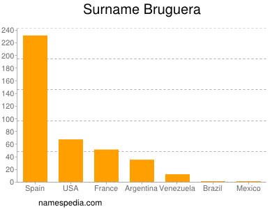 Surname Bruguera