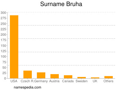 Surname Bruha